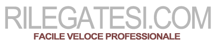 RilegaTesi.com - rilegatura tesi online stampa in 24 ore spedizioni veloci
